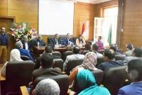 «المغربى»: إتاحة المقررات الدراسية إلكترونيًا لطلاب جامعة بنها